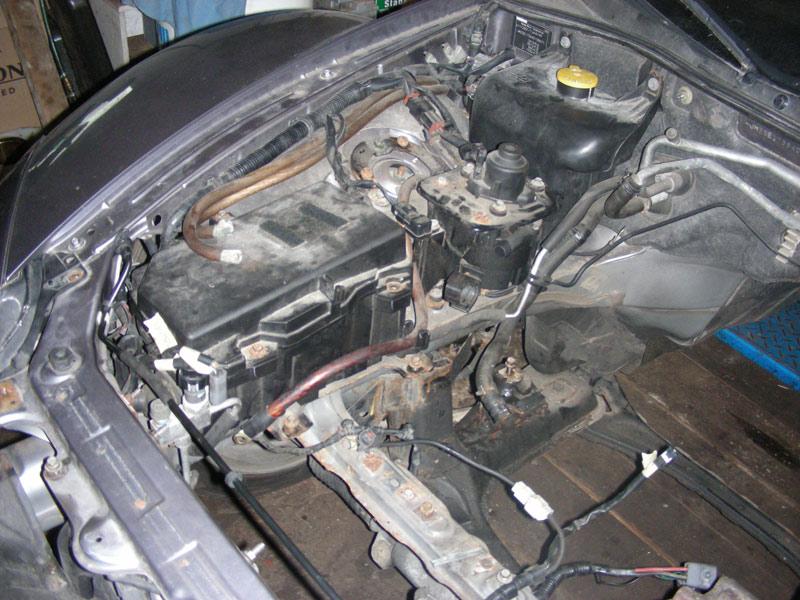 Czech Mazda RX-8 DC conversion thread - DIY Electric Car Forums